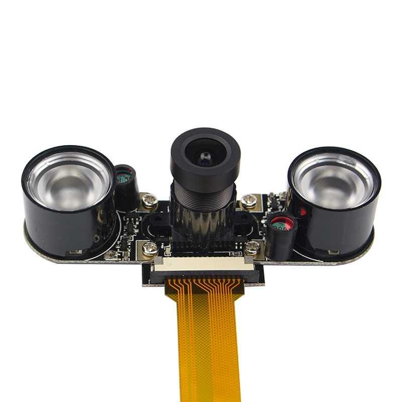 لراسبيري بي زيرو كاميرا البؤري قابل للتعديل 5Mp كاميرا ويب كاميرا ليلية وحدة Ffc كابل لتوت العليق بي زيرو