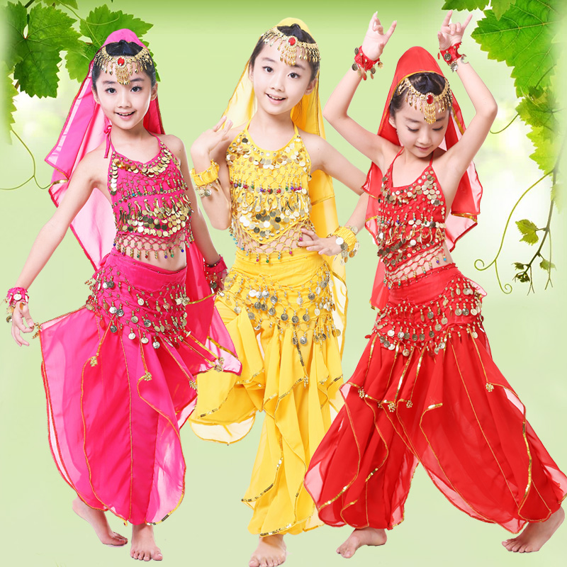 (10sets)kids costumes Indian dance belly dance performance Childrenu0027s folk dancing Belly dance childrenu0027s national costume-in Belly Dancing from Novelty ...  sc 1 st  AliExpress.com & 10sets)kids costumes Indian dance belly dance performance Childrenu0027s ...