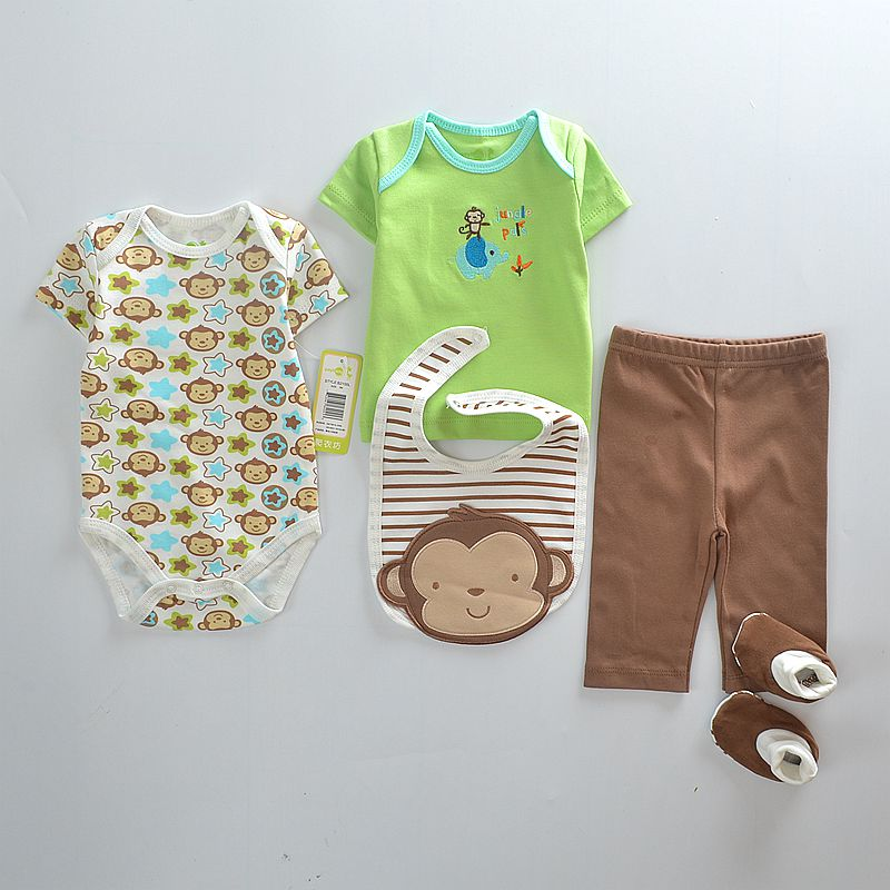 Baby Blue Monkey boutons vêtements bébé garçon 1//2 Pouce 10 boutons bébé garçon 13mm