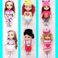"Doll clothes skirt  for 16"" 40CM salon doll clothese dress for Cinderella Princess Belle Rapunzel Snow white Elsa Anna"