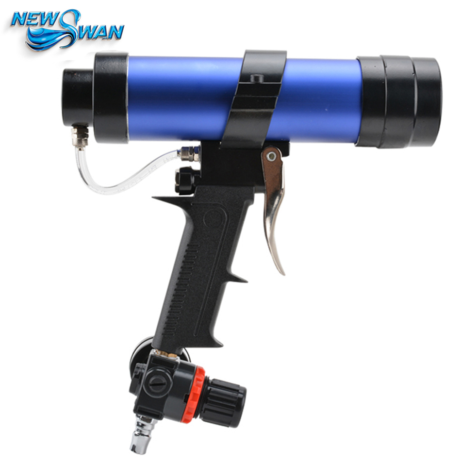 цена на Pneumatic Glass Gel Glue Sealant Caulking Cartridge Spraying Foaming Sealing Guns Gun Joint Seal Gap Filling Tools