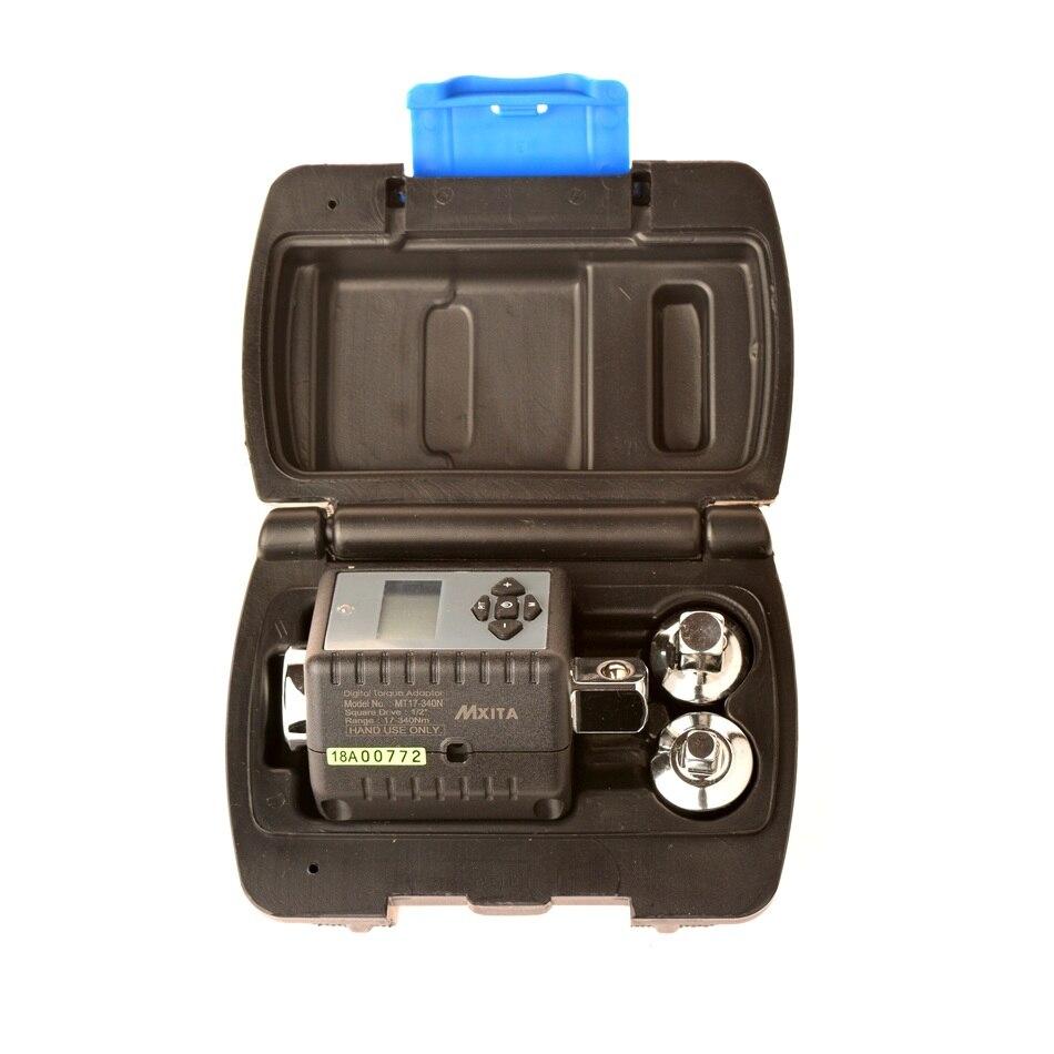 Цифровой Крутящий момент гаечный ключ поворотный угол манометр 2-200 нм Регулируемый Professional электронный крутящий момент гаечный ключ велоси...