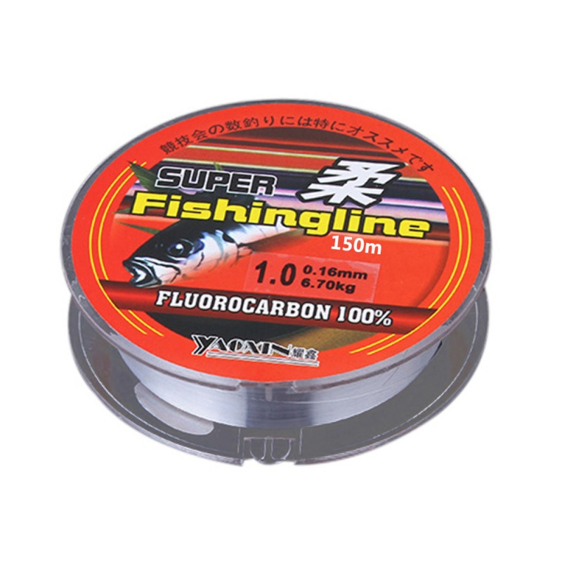 Fishing Lines 150m Super Strong Fish Line 100% Nylon Transparent Not Fluorocarbon Fishing Tackle Not linha multifilamento New