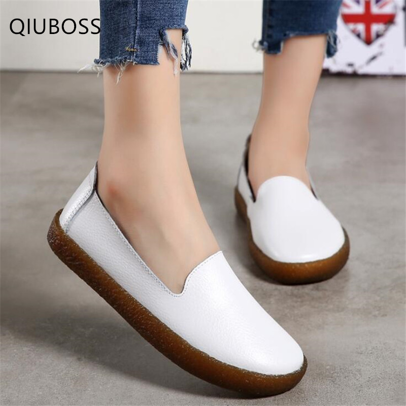 Shoes Flats-Spring Female Large-Size Casual Fashion Women 35-43 Anti-Skid Wild Q812 Low-Top