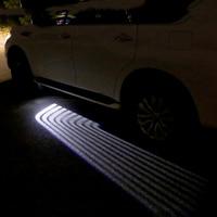 Светодиодный автомобилей Добро пожаловать Свет Крылья Ангела лазерной лампы авто свет двери для Nissan Patrol Armada X trail Qashqai аксессуары