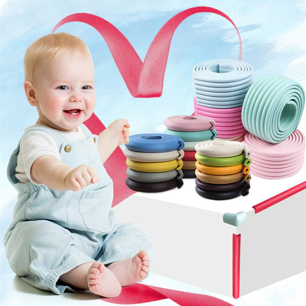Kidlove Children Multi-functional Anti-collision Strip Thicken Baby Nursery Safety Protection Strip Foot Mat Double-sided Tape