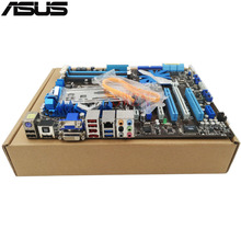 Original Occasion De Bureau carte mère Pour ASUS P7H57D-V EVO H57 soutien Socket LGA1156 4 * support de la DDR3 16G 6 * SATA2 2 * SATA3 ATX