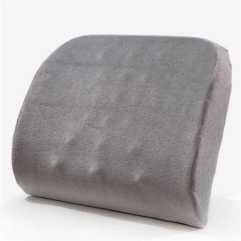 Memory foam car back pillow Massage lumbar support off Stress Pain & Ache Relief for Lower Back & Posture Black breathable oro facial pain not just tooth ache