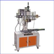 Плоская/цилиндрическая Автоматическая пневматическая машина передачи тепла Печатный станок с горячим тиснением для разноцветных
