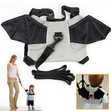 Детский рюкзак для мальчиков и девочек с ремнем безопасности, дорожный Рюкзак-летучая мышь, сумка на плечо, рюкзак, защитный рюкзак для занятий спортом, Детский рюкзак с ремнем