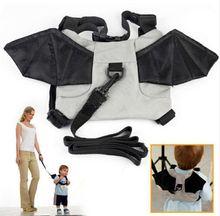 Children Kid Boy Girl Safety Harness Travel Bat Backpack Shoulder Bag Rucksack Activity Protective Baby Backpack Harness