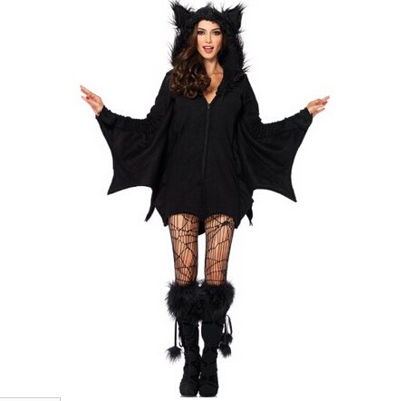 role-playing Evil clothing Carnival party Halloween vampire costume cosplay sexy black coat queen Ds costumes nightclub uniform