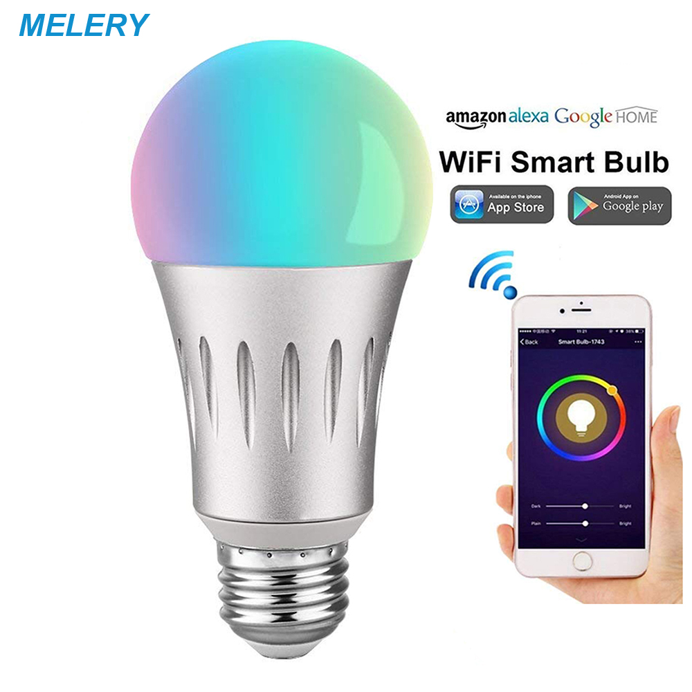 Led Lampen Online Beste Kopen Wifi Smart Led Lampen 7 W E26 Lamp 60 Equivalent