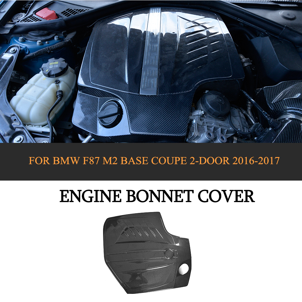 Carbon Fiber Auto Replacement Engine Hood Covers For BMW
