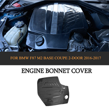 Carbon Fiber Auto Replacement Engine Hood Covers For BMW F87 M2 Base Coupe 2 Door 2016 2017 Car Styling