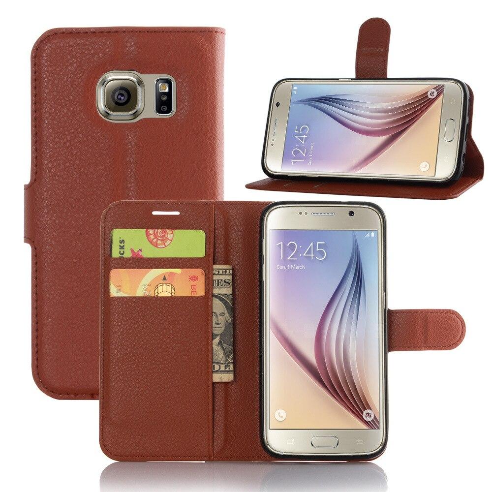 Роскошный кошелек Стиль кожаный чехол для Samsang Galaxy S7 с держатели карт Smart Стенд кожного покрова чехол для smasang s7 ...