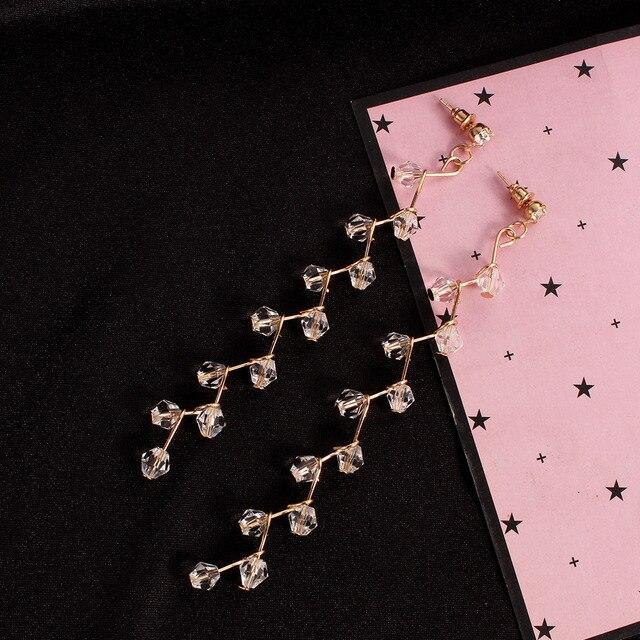 Купить женские серьги с кисточками элегантные в стиле бохо 2018