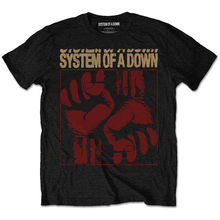 System Of A Down Fistacuff T-Shirt - NEW & OFFICIAL! Short Sleeves Cotton T Shirt top tee Original Tops Novelty