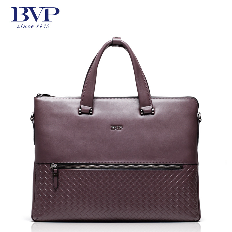 BVP Hot Sale  Men 100% Genuine Leather Bag Briefcase Handbag Men Shoulder Bag 15 Laptop Portfolio Briefcase T1021 bvp free shipping new men genuine leather men bag briefcase handbag men shoulder bag 14 laptop messenger bag j5