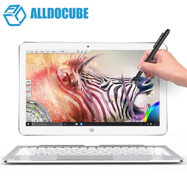 New Arrival 10.6'' IPS Cube Mix plus 2 in 1 Tablet PC 1920x1080 Windows 10 Intel Kabylake 7Y30 Dual Core 4GB Ram 128GB Rom