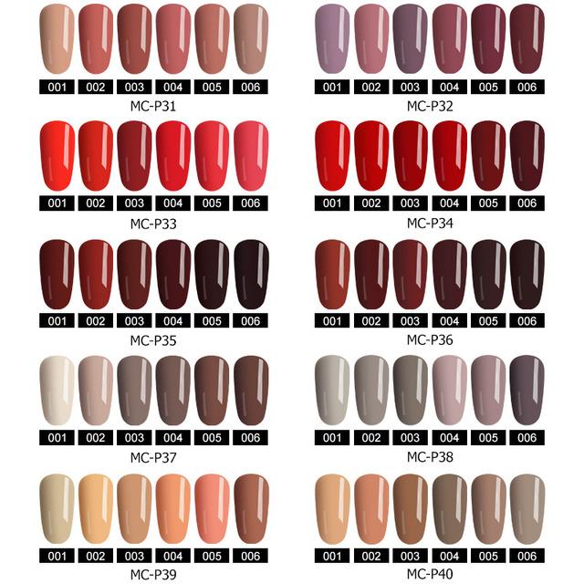 Kit de Arte de uñas de Gel UV MIZHSE 36 w lámpara de secador juego de esmalte de uñas de Gel UV de manicura para esmalte de uñas kit de herramientas de manicura laca