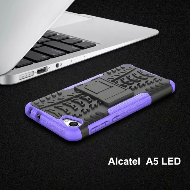 FGHGF New Original Cases For Alcatel A3 A5 Led Tire Tattoo Bracket Fitting PC Cover For Alcatel Pop 4 4S U54G Hot Selling Fundas