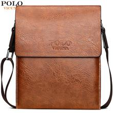 купить VICUNA POLO High Capacity Mens Leather Messenger Bag Famous Brand Cross Body Shoulder Bag For Male Side Sling Bags по цене 1371.66 рублей