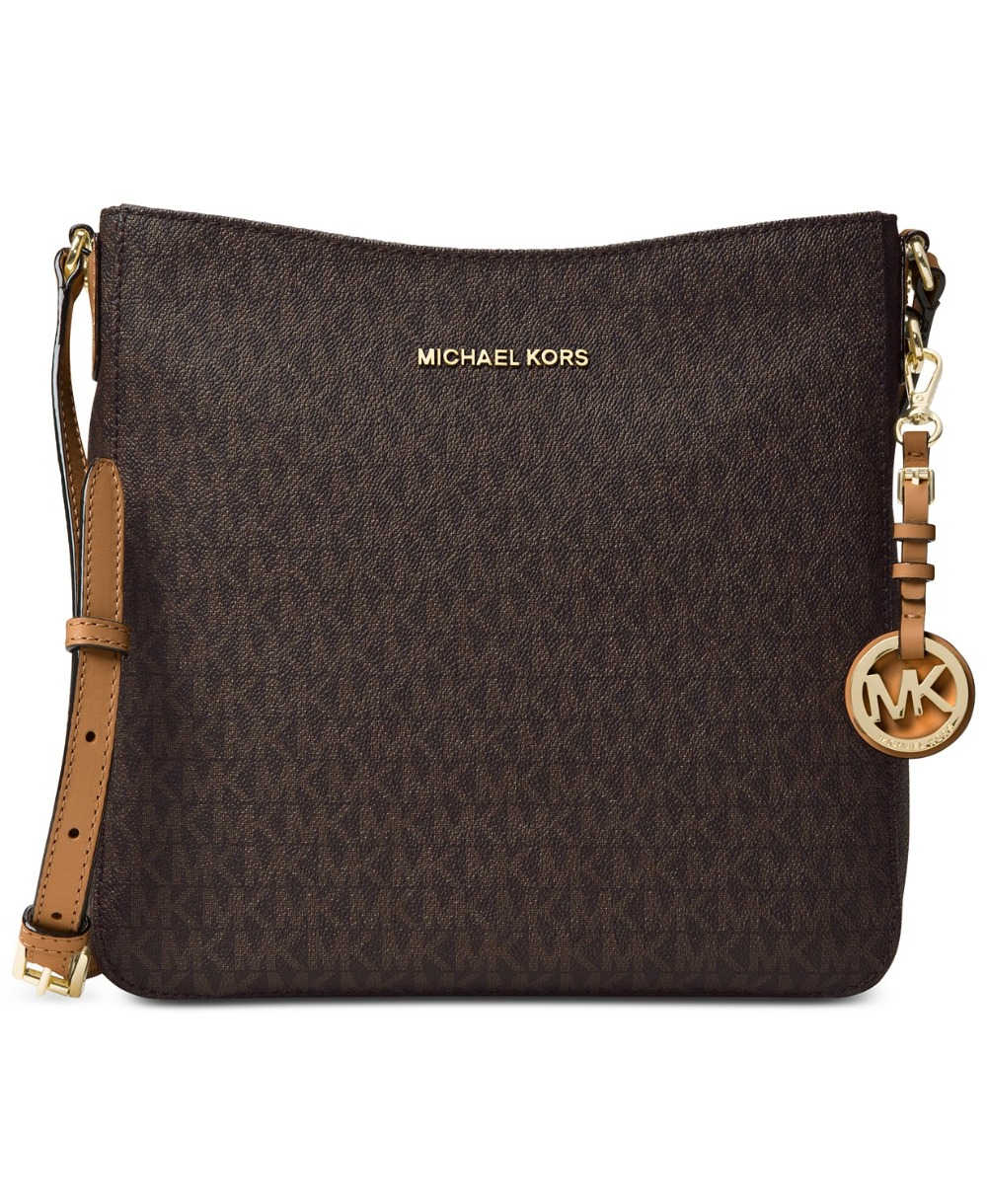 ... Michael Kors Signature Jet Set Travel Messenger Large Luxury Handbags  For Women Bags Designer by MK ...