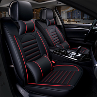 Universal pu leather car seat cover auto seats covers for chevrolet niva trailblazer traverse tahoe
