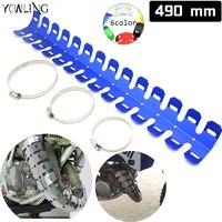 yowling-exhaust-muffler-pipe-guard-protector-heat-shield-for-yamaha-yz-wr-serow-ttr-xt-250f-426f-450f-250x-250fx