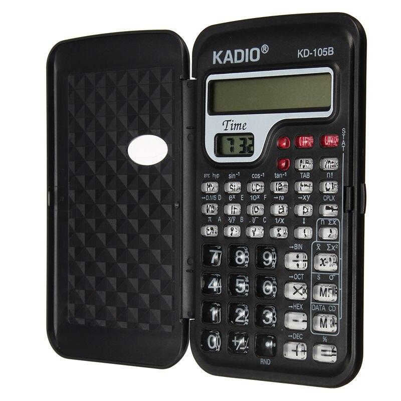 Multi Функция цифровая офисная мини-научный калькулятор для школьника Функция Счетчик Расчет машина с часами