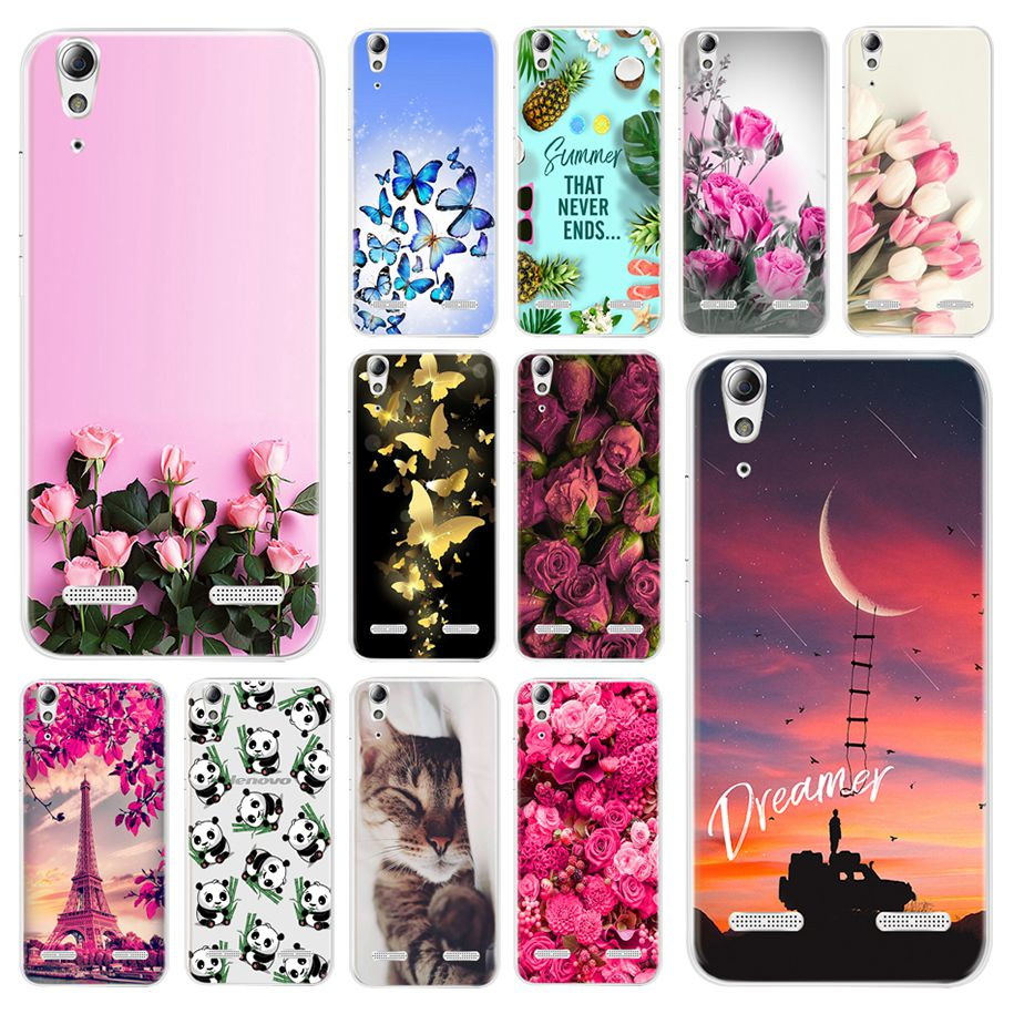 For Lenovo K3 A6010 Plus A6000 Case Cute Painted Soft Silicone Phone Cover For Lenovo Vibe K3 A 6000 Lemon K3 K30-T A <font><b>6010</b></font> Coque image