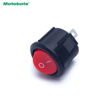MOTOBOTS 2-Pin 16.5mm Dia Round Button 3A/250V 6A/125V Car/Auto/Boat Rocker SPST Switch #HQ4700 image