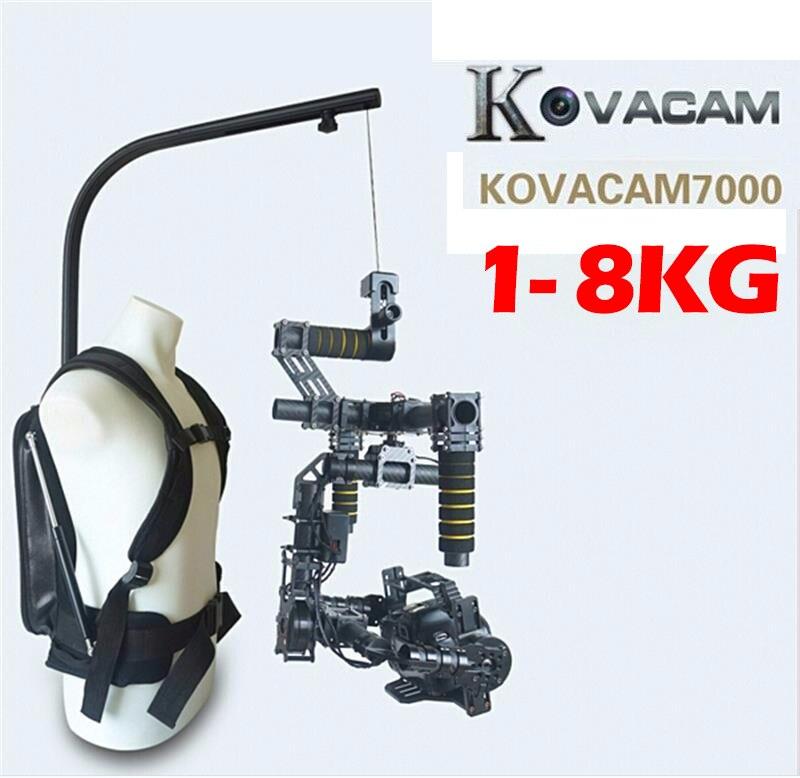 bilder für KOVACAM EASYRIG 1-8 kg Tragen Videokamera Suppport für Dslr DJI Ronin M 3 ACHSEN Gimbal Stabilizer Kreisel Kreisel steadicam weste