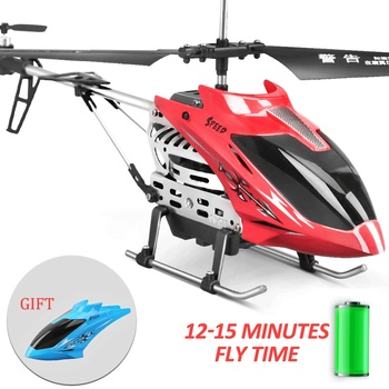 Anti-Jamming RC Helicopter Altitude Hold Remote Control Helicopters Water-Based Baking Varnish Toys for Kids 268