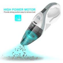 Ручной Аккумуляторный Пылесос, THZY ручной автомобильный пылесос В переменного тока Портативный пылесос, li-ion Батарея питание Перезаряжаемые, мощный Por