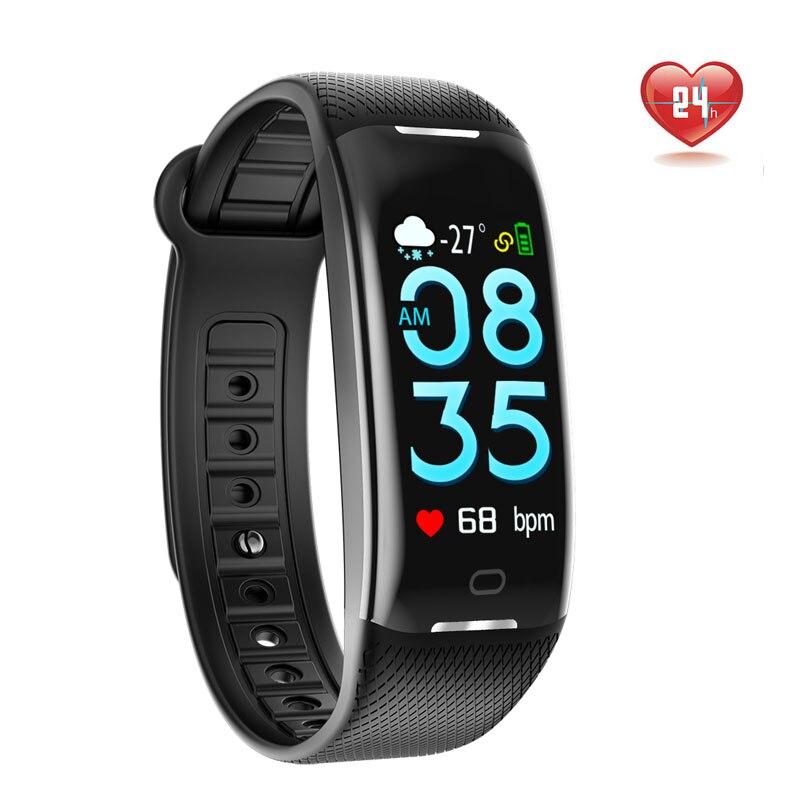 MHKBD Bracciale Fitness Activity Tracker Monitor Orologio Da Polso di Pressione Sanguigna Pulse Monitor di Frequenza Cardiaca Portatile Sfigmomanometro