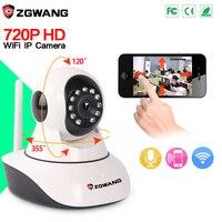 ZGWANG 720P Mini IP Camera Wireless WiFi Camera Surveillance P2P Infrared Night Vision Home CCTV Camera