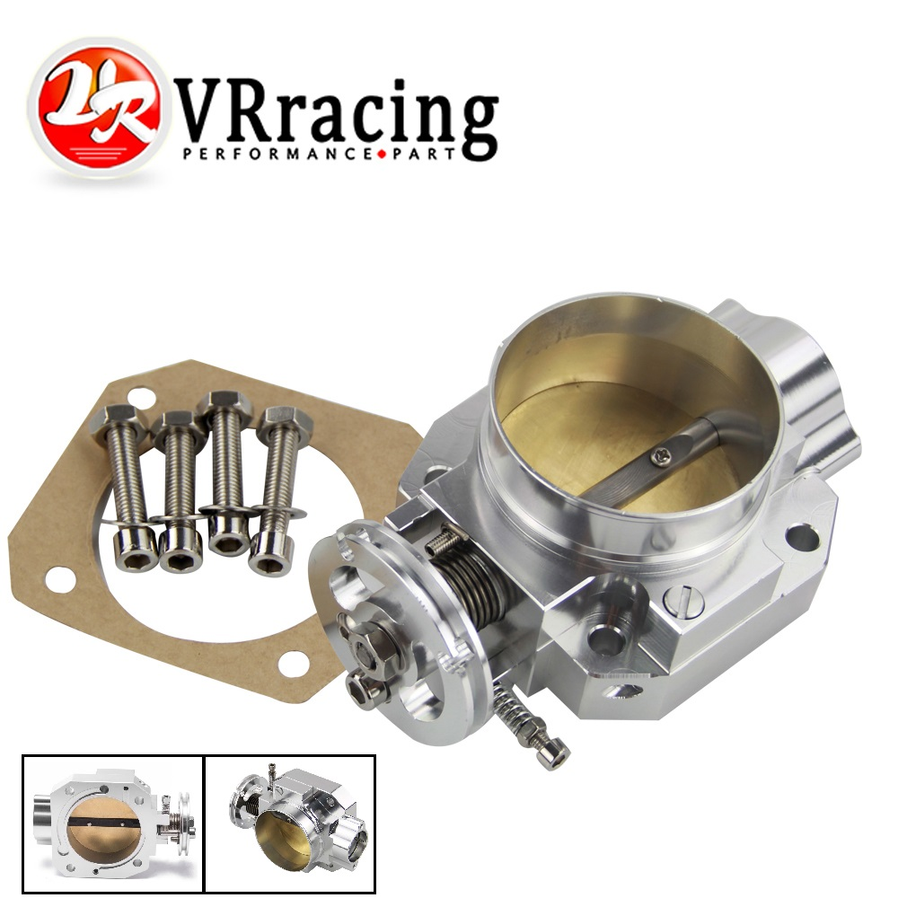 VR RACING NEW THROTTLE BODY FOR HONDA B16 B18 D16 F22 B20 D/B/H/F THROTTLE BODY 70MM EF EG EK DC2 H22 D15 D16 VR6952