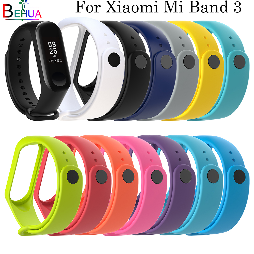 Bracelet For Xiaomi Mi Band 4 Watch Strap Wrist Band Replacement Soft Silicone Band For Xiaomi Miband 3 Smart Accessories Strap