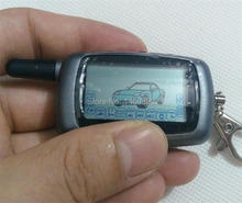 2 way LCD Remote Controller Key Fob Tamarack for Russian Version Vehicle Security Two way Car