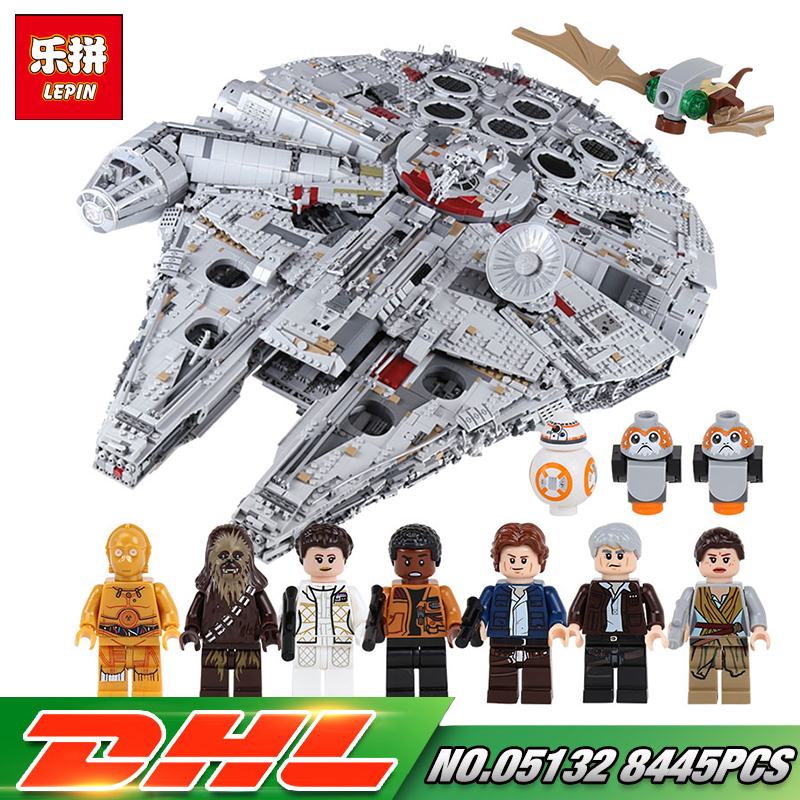 In Stock Lepin 05132 Star Series Wars The Ultimate Collector's Destroyer Set legoing 75192 Building Blocks Bricks Gift Kid Toys black pearl building blocks kaizi ky87010 pirates of the caribbean ship self locking bricks assembling toys 1184pcs set gift