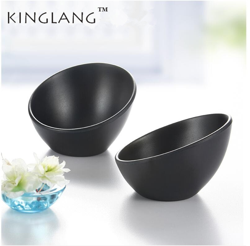 1pc Japanese Style Melamine vegetable Ice Cream Bowl Hot Pot Bowls Salad Bowl Tableware
