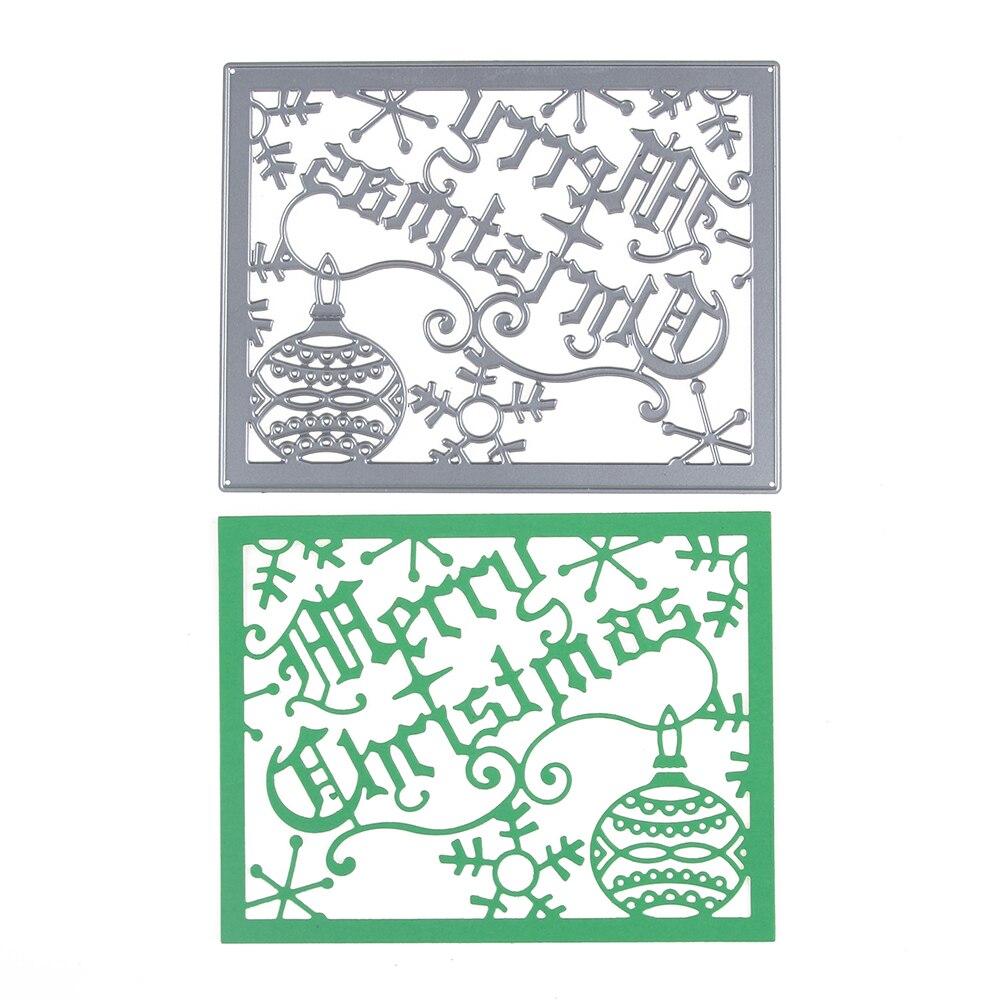 Aliexpress.com : Buy 139*108mm scrapbooking DIY Merry ...
