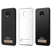 For Motorola Moto Z Play XT1635 Case IMAK Transparent Soft TPU Gel Clear Crystal Silicone Ultra