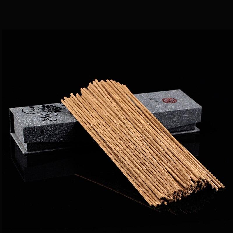 チベットの線香+ホルダーナチュラルアロマスティックホームリビングルームオフィス用芳香剤約130個/箱寒天木材線香
