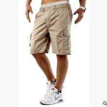 Hombres casuales Jogger Pantalones deportivos pantalones de combate militar entrenamiento gimnasio Pantalones Hombre Casual de verano Pantalones cortos