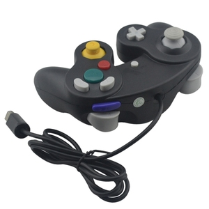 Image 3 - For N G C  gamepad One Button Wired Game Controller with 8MB Memory Card for Game Cube for G C for W i i Console