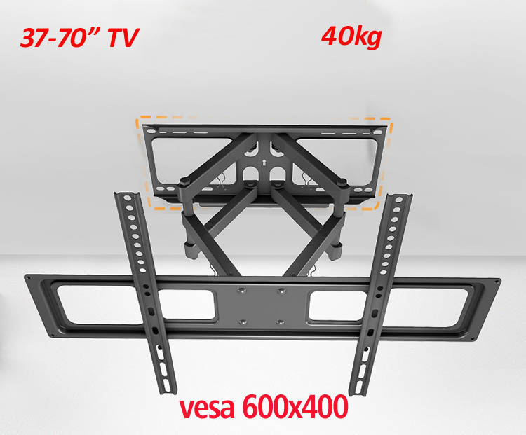 Universal 6 arm double arm full motion 40kg 65inch 70inch retractable led tv wall mount lcd bracket  stand plasma holderUniversal 6 arm double arm full motion 40kg 65inch 70inch retractable led tv wall mount lcd bracket  stand plasma holder