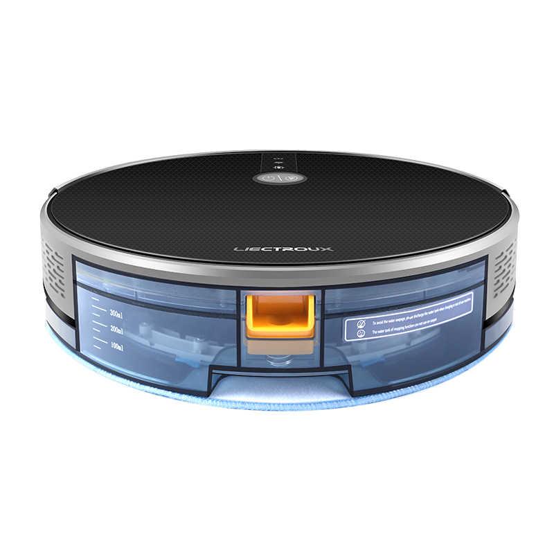 2019 Высококачественный робот-пылесос  C30B, навигация по карте, всасывание 3000Pa, интеллектуальная память, карта на Wi-Fi APP, электрический водяной бак